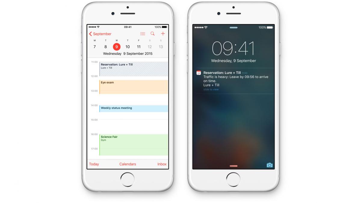 iOS 9 predictive search