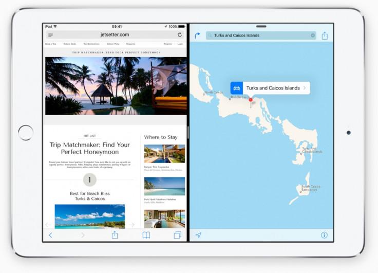 iOS 9 Multitasking for iPad