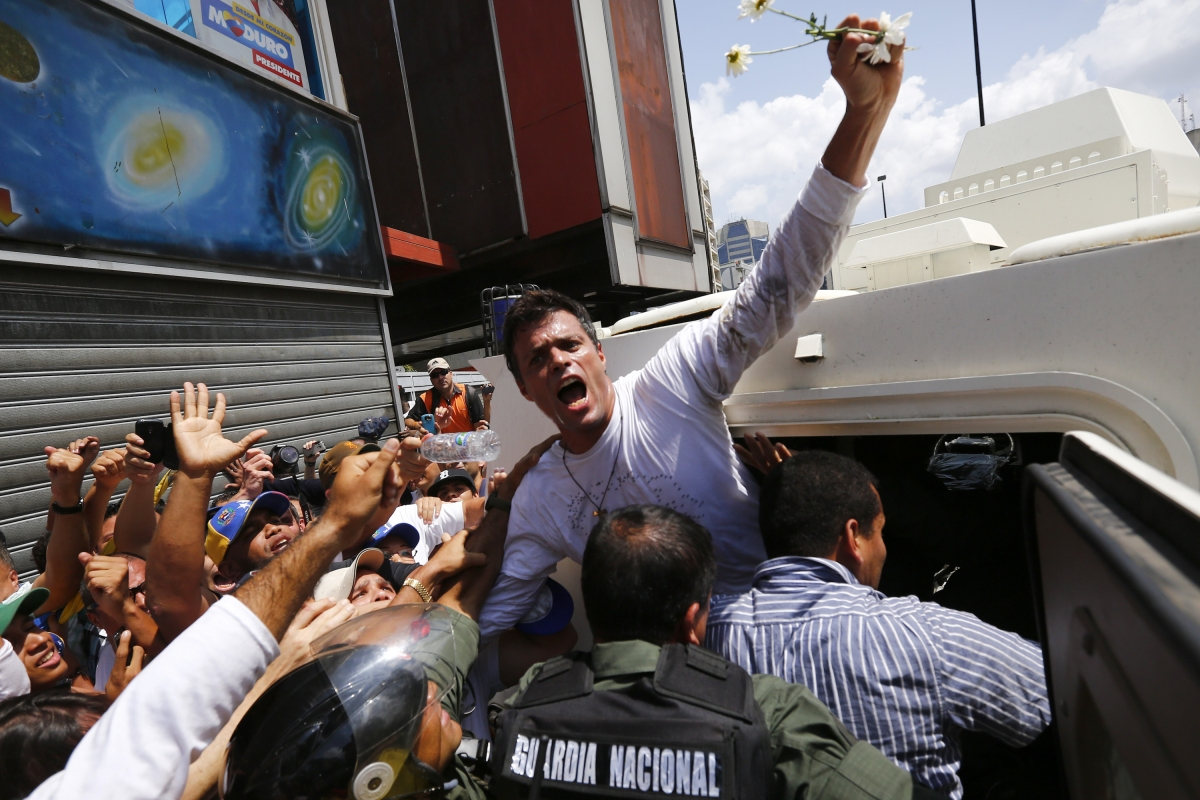 Venezuela opposition Leopoldo Lopez