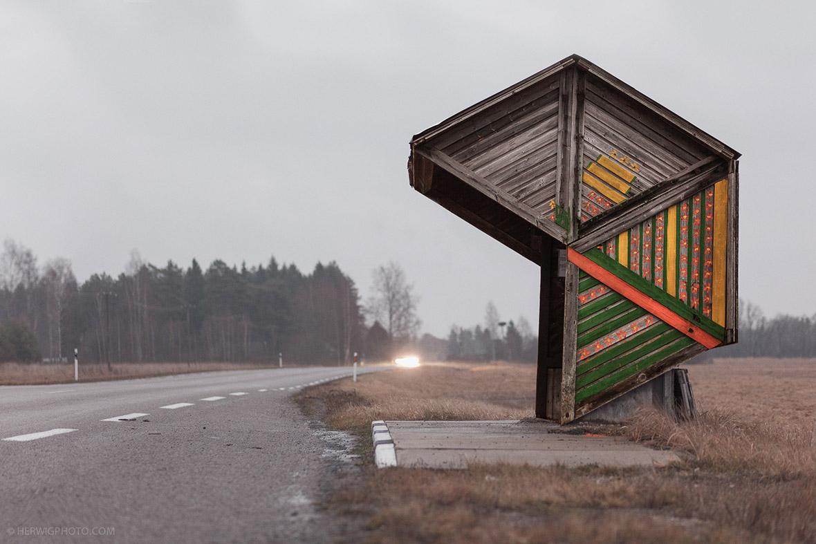 Soviet Bus Stops Christopher Herwig