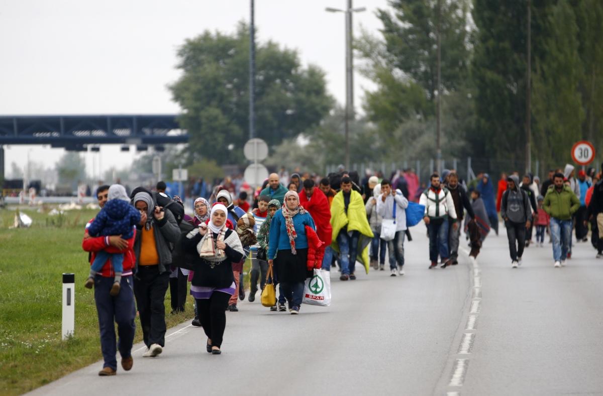 EU migrant Austria Hungary