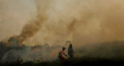 Indonesia fires smoke air pollution