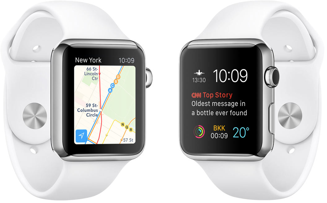 Apple Watches running watchOS 2