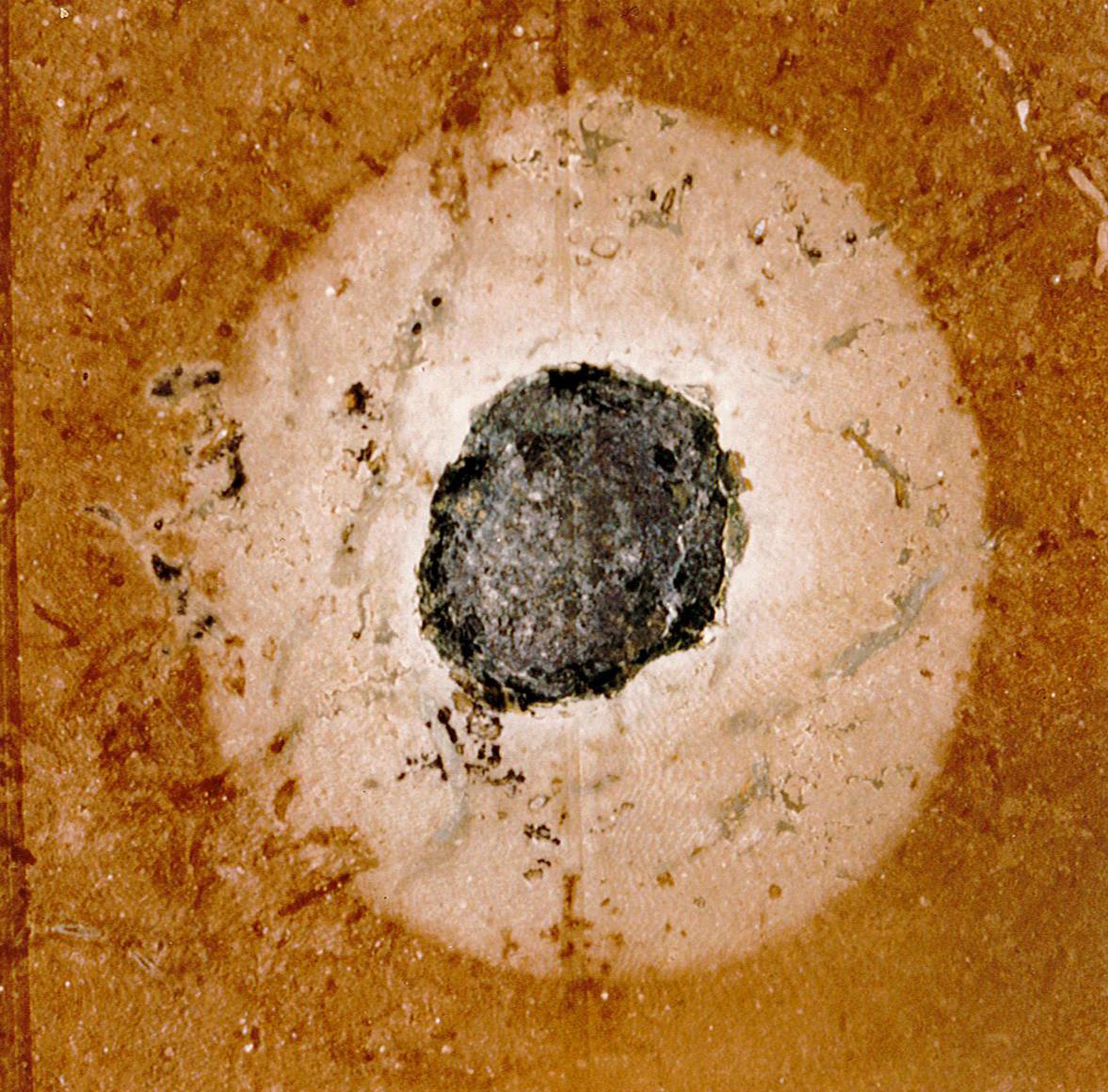 double crater meteor