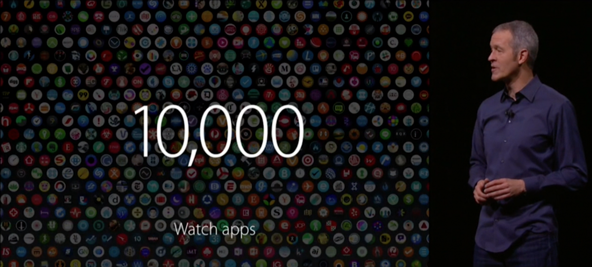 10,000 Apps for Apple Watch