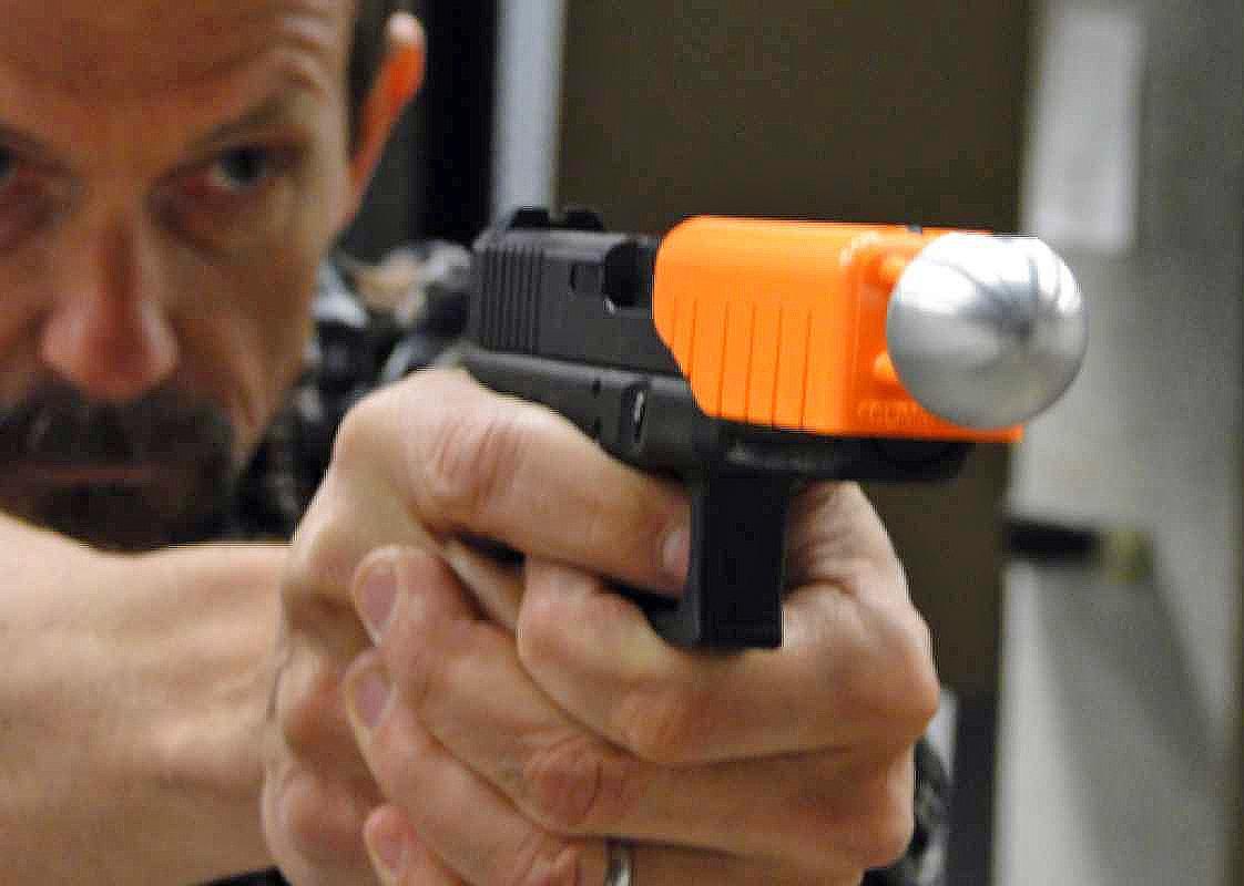 The Alternative non-lethal gun solution for police