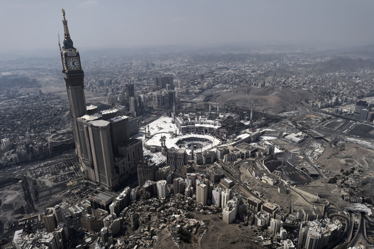 Mecca Crane Collapse At Grand Mosque Kills At Least 62