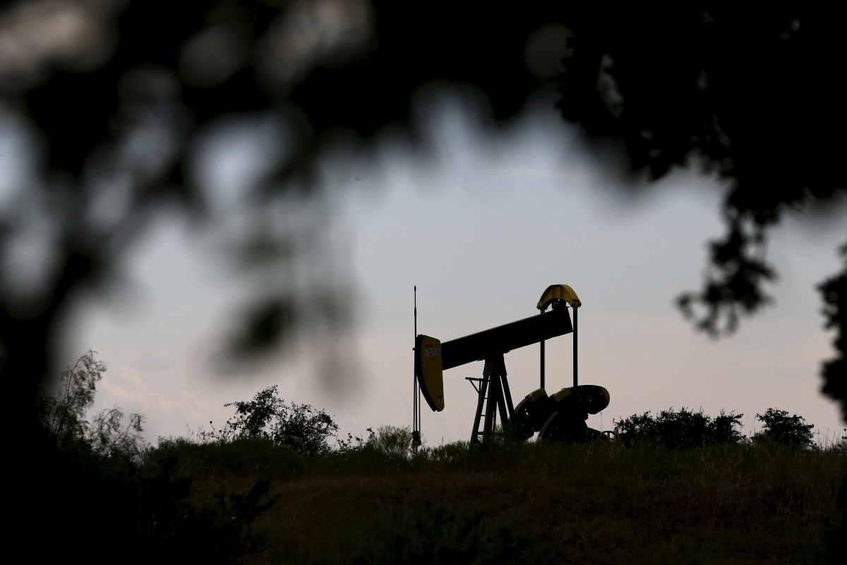 Oil pump jack, Cisco, Texas