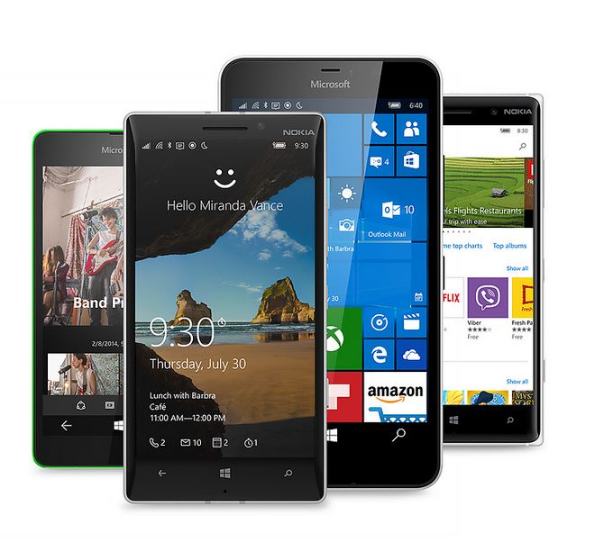 Microsoft rolls out Windows 10 Mobile upgrade for select phones