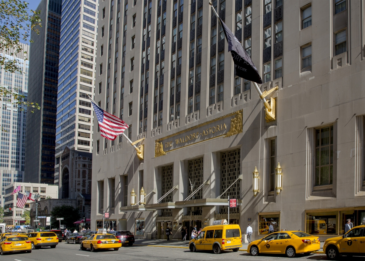 Waldorf Astoria hotel, New York