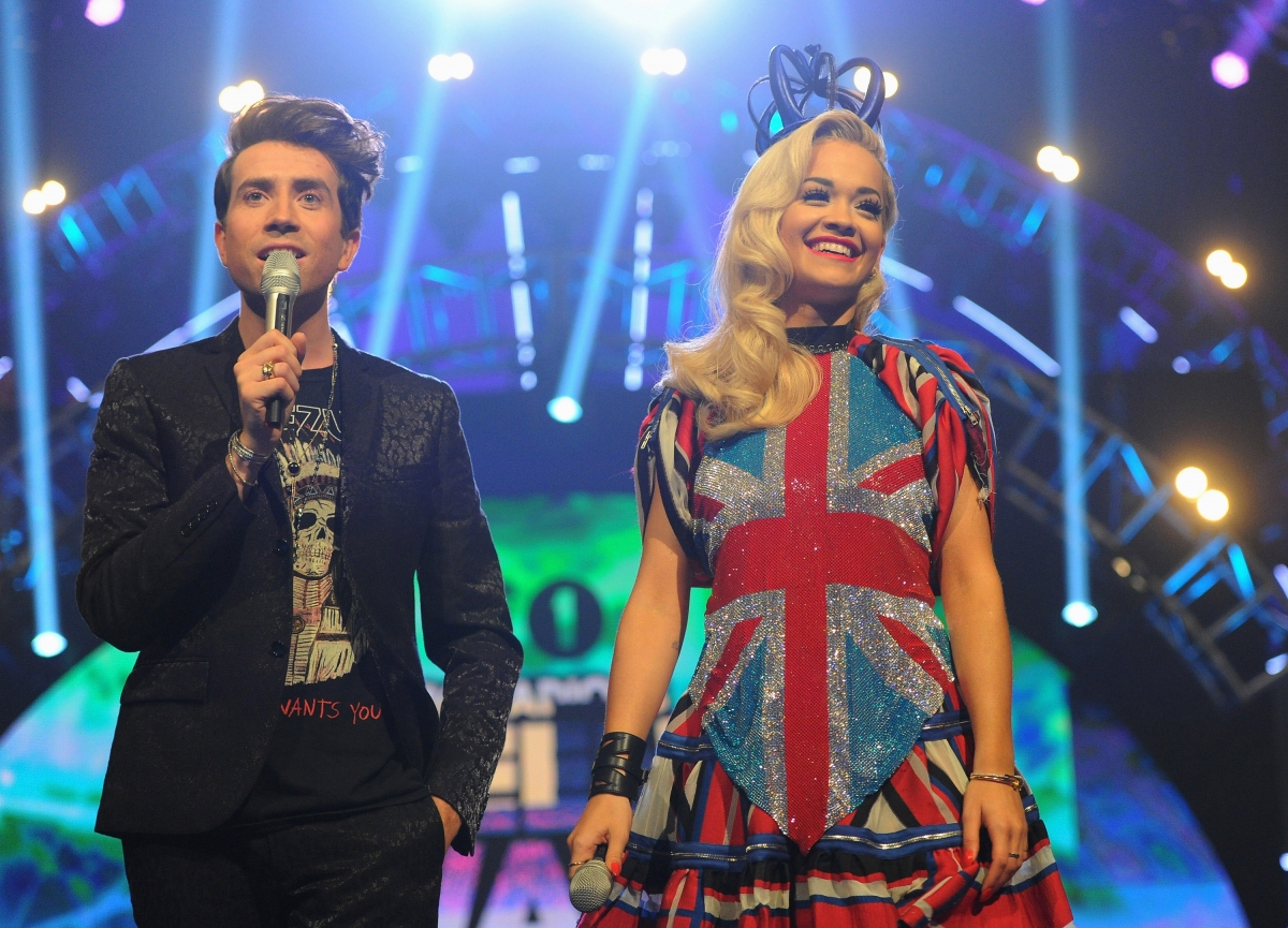 Nick Grimshaw and Rita Ora