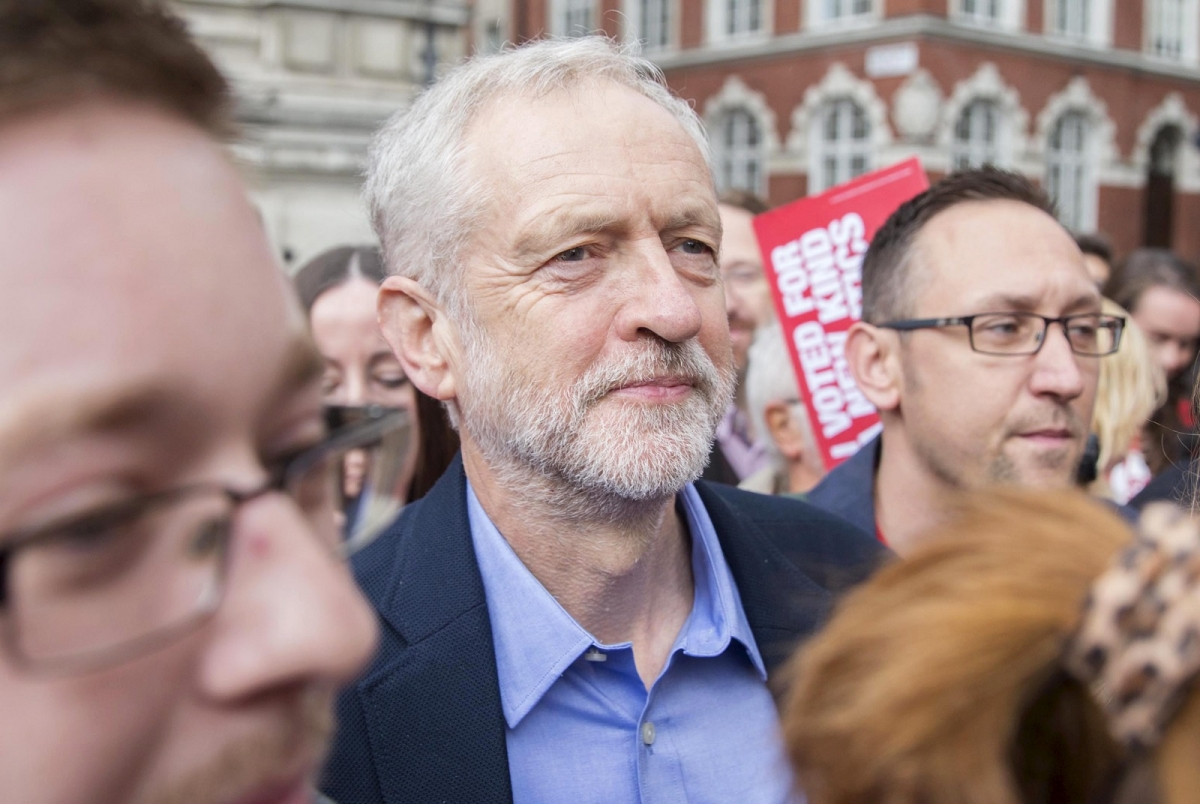 Jeremy Corbyn Labour Leadership results arriving