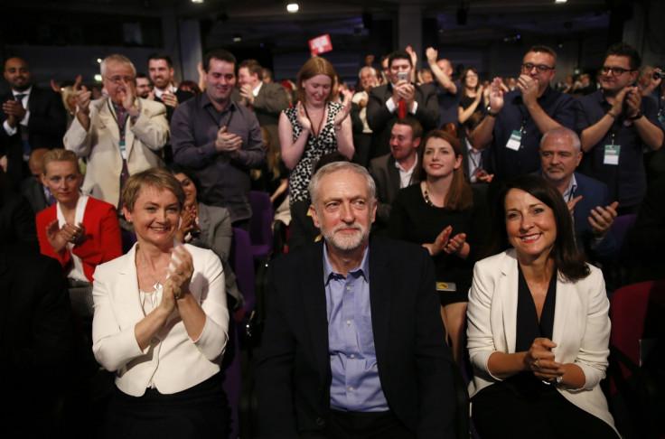 Yvette Cooper Jeremy Corbyn Liz Kendall
