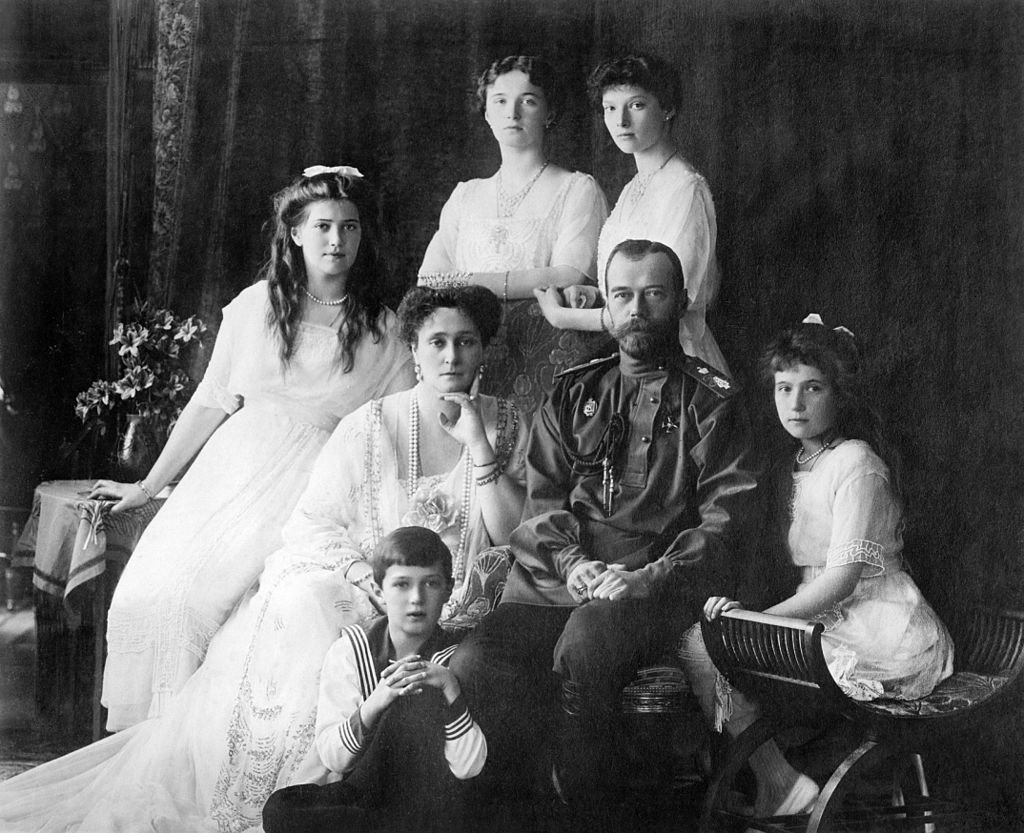 Tsar Nicholas II and his family