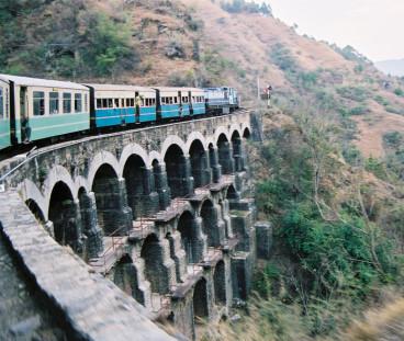 Kalka-Simla Railway India