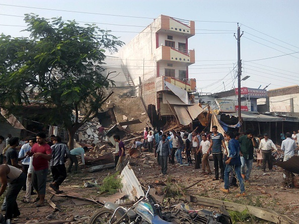 India blast 82 dead