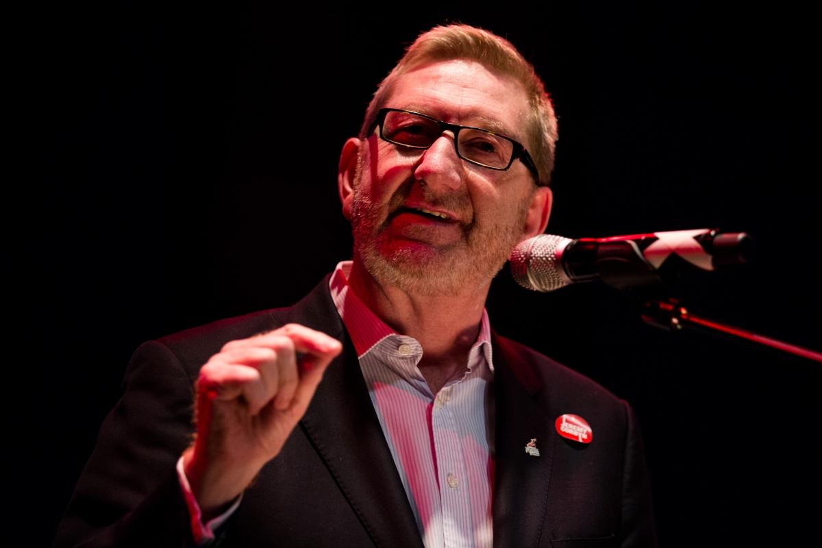 Len McCluskey Unite union leader
