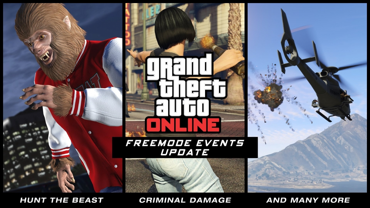 GTA 5 Freemode Events Update