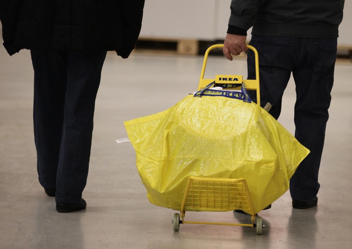 Ikea bag trolley Berlin store