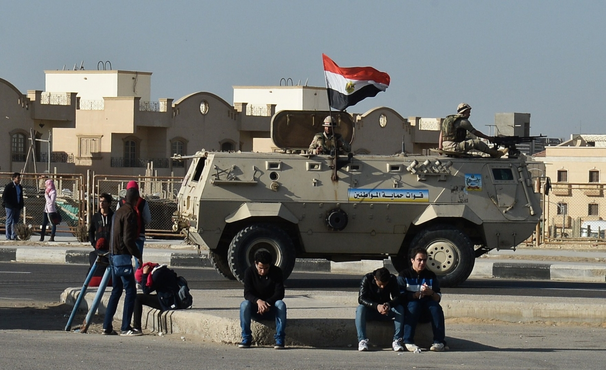 Egypt army kills tourists