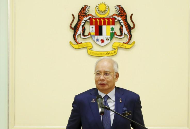 Malaysia Prime Minister Najib Razak
