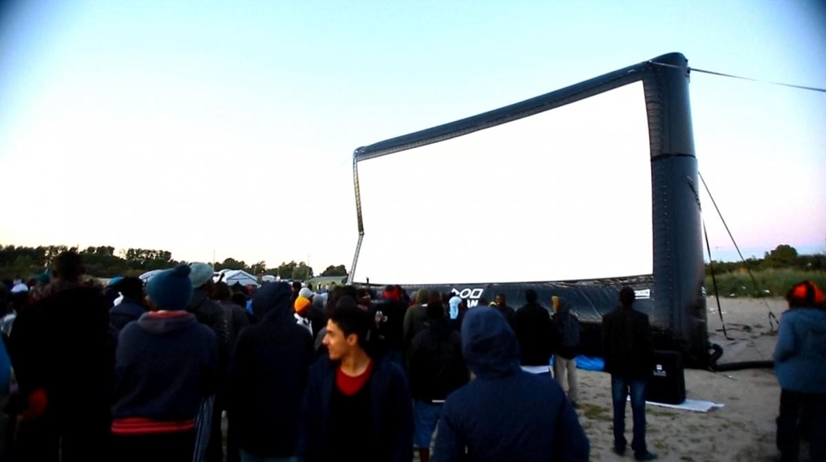 Secret Cinema Calais refugees