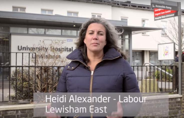 Heidi Alexander Jeremy Corbyn shadow cabinet