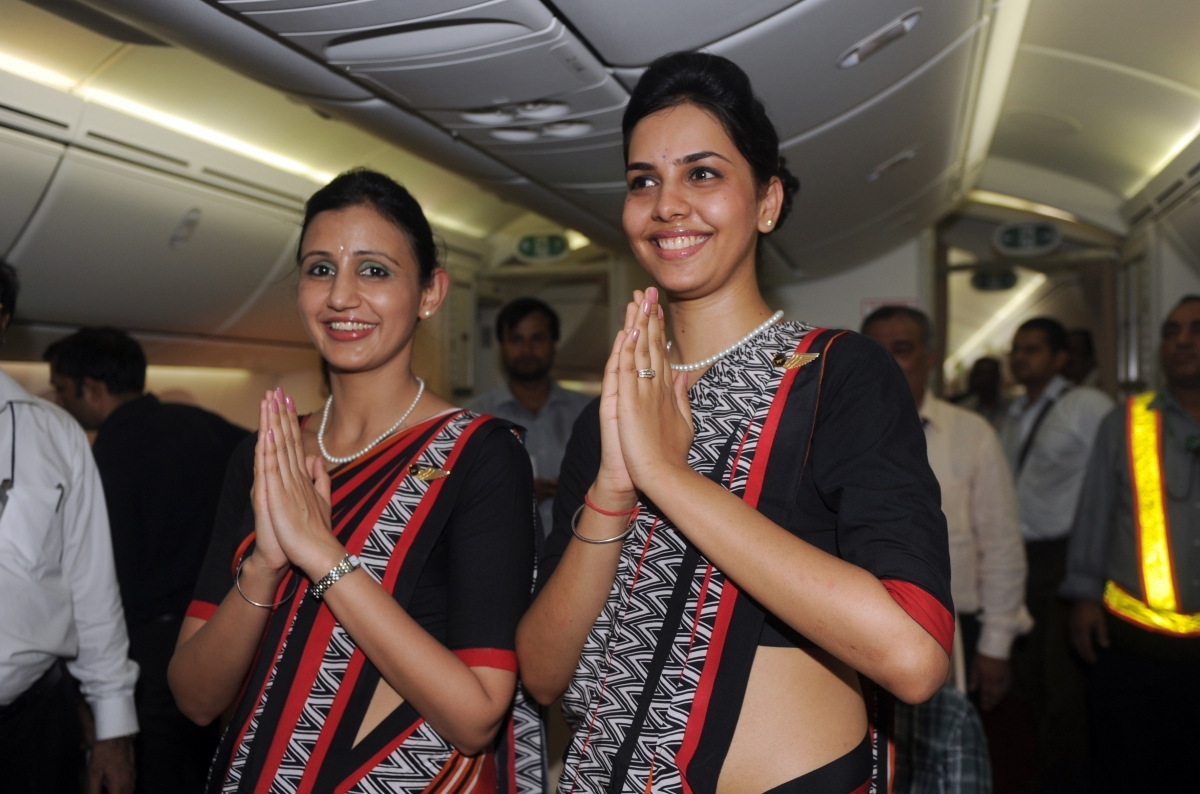 Air India air hostesses