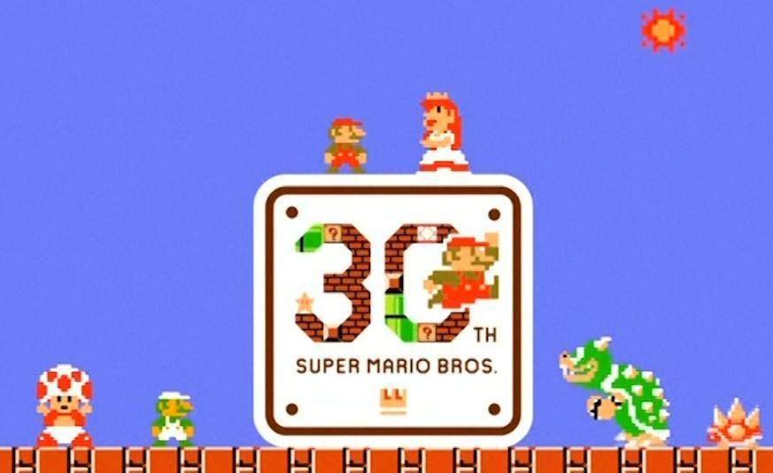 Super Mario Bros 30 anniversary