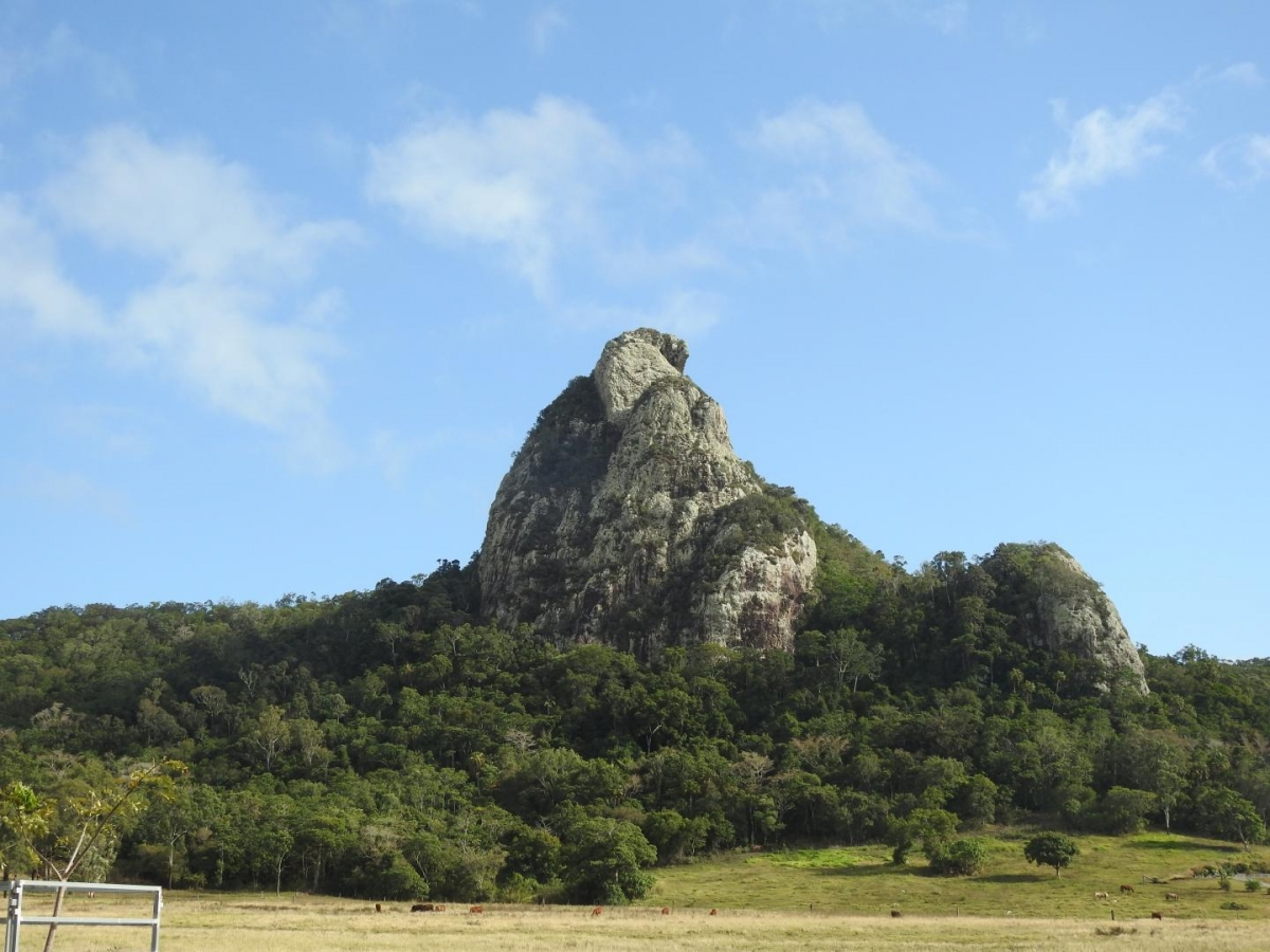 volcanic plug in Cape Hillsborough
