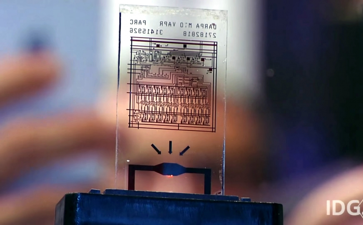A computer chip that self-destructs in seconds