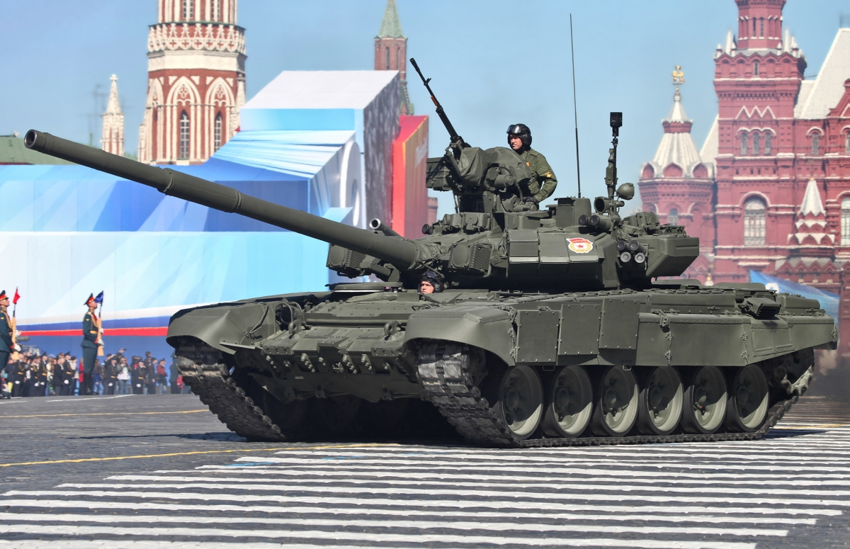 Russian T-90 tank Syria