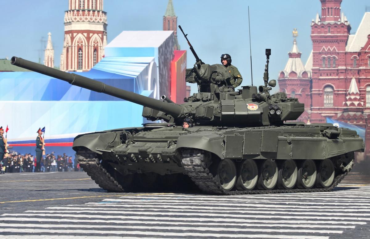 Russian T-90 tank Syria