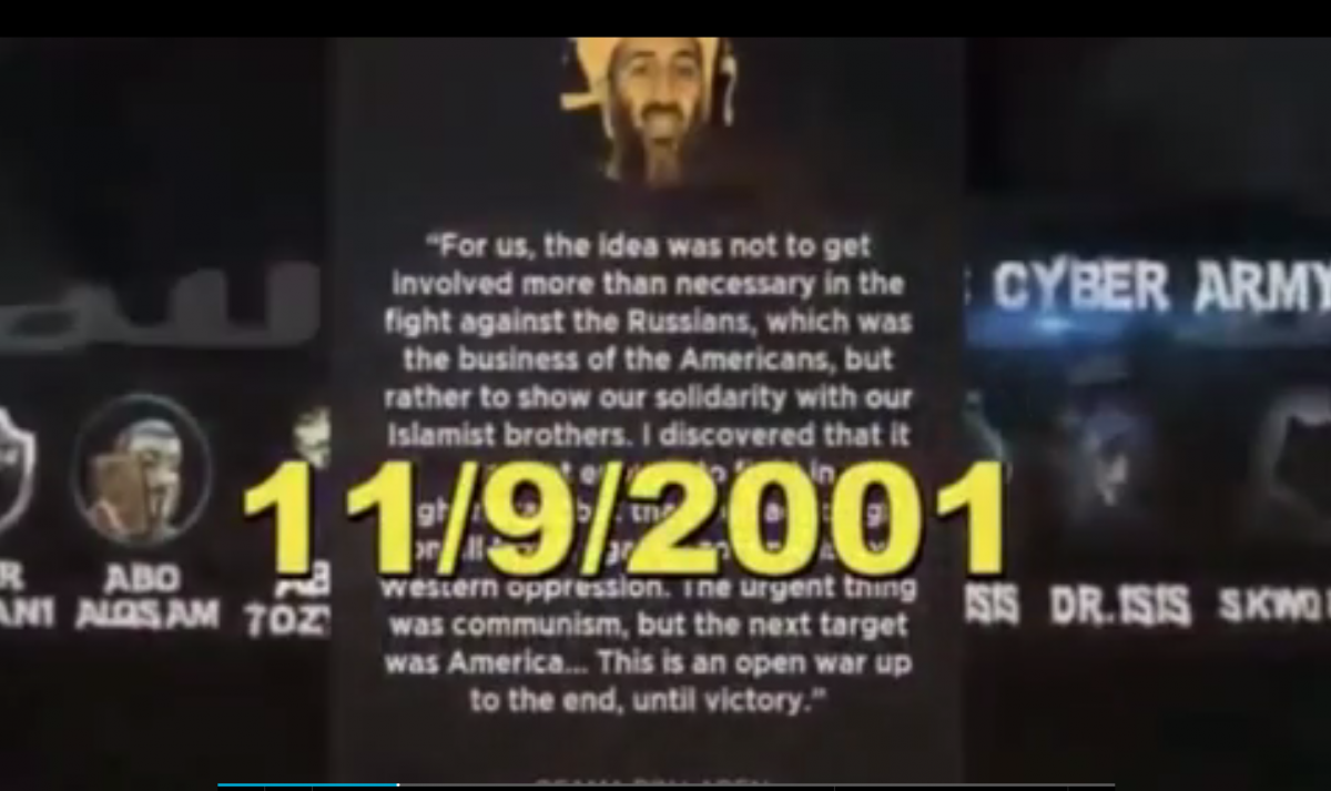 Isis 9/11 video