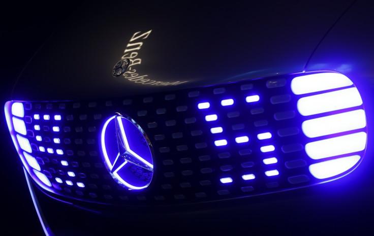 Mercedes-Benz F 015, Frankfurt