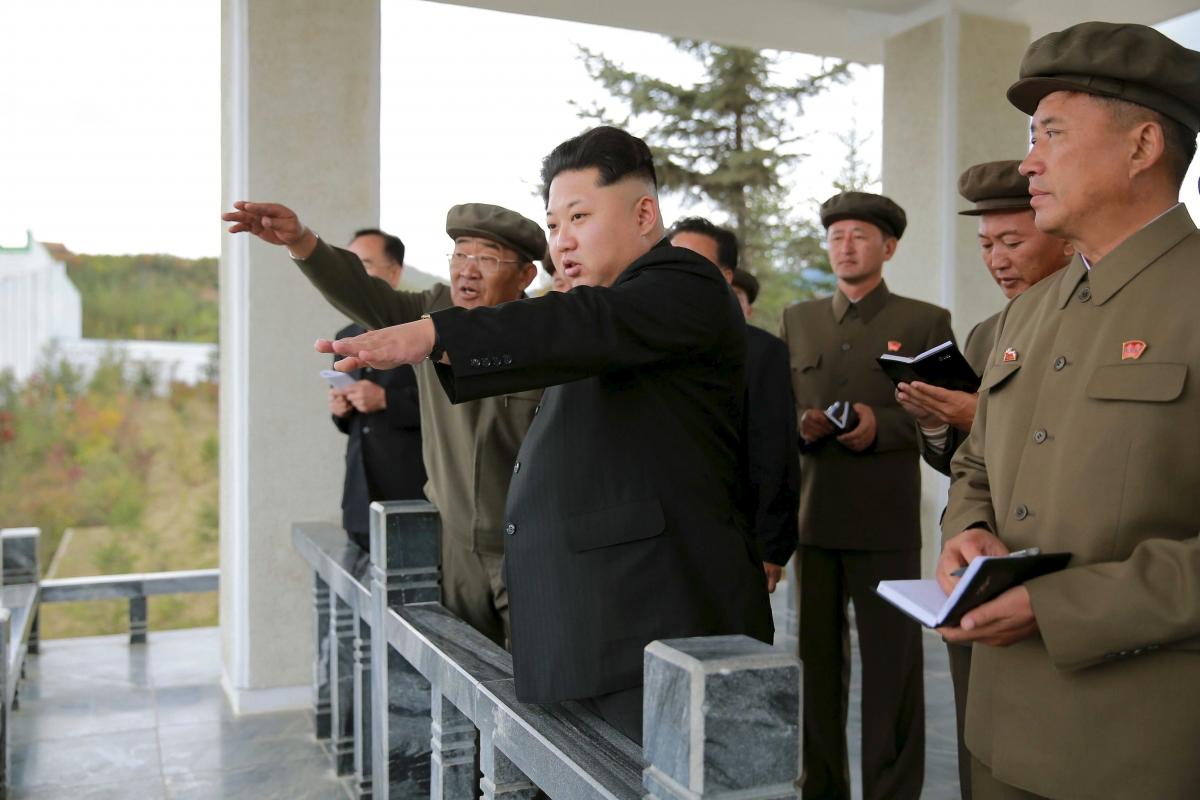 Nuclear north korea  Kim Jong-un