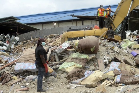 Lagos church collapse