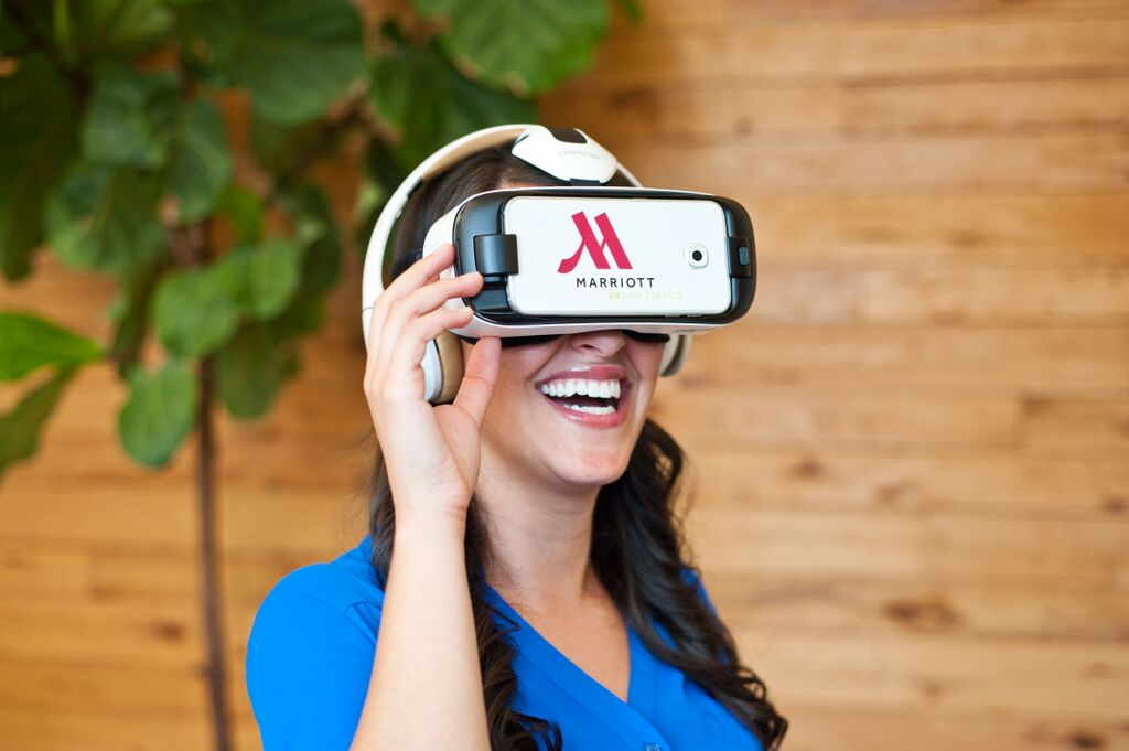 virtual reality tourism marriott VR