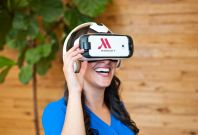 virtual reality tourism marriott VR