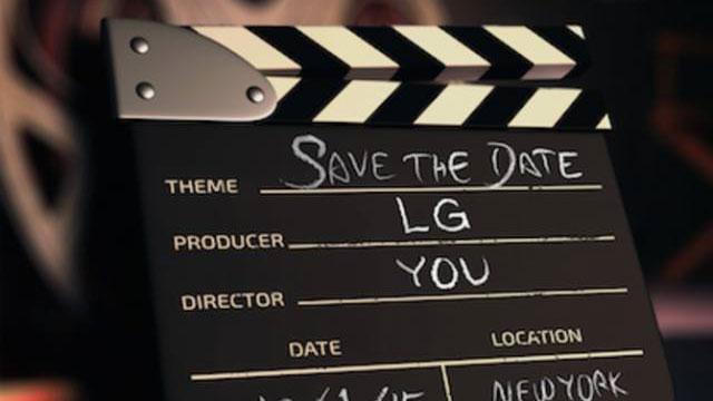 LG invitation for 1 October event
