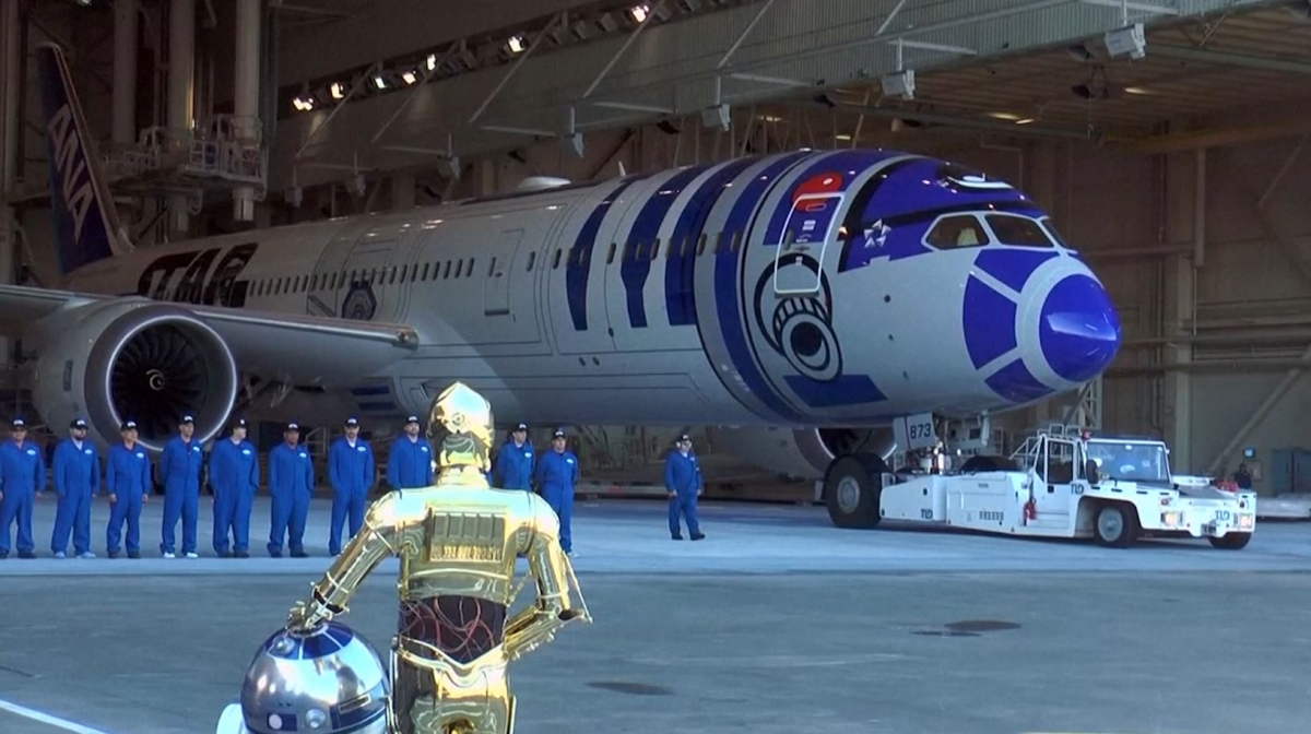 Star Wars jet by boeing