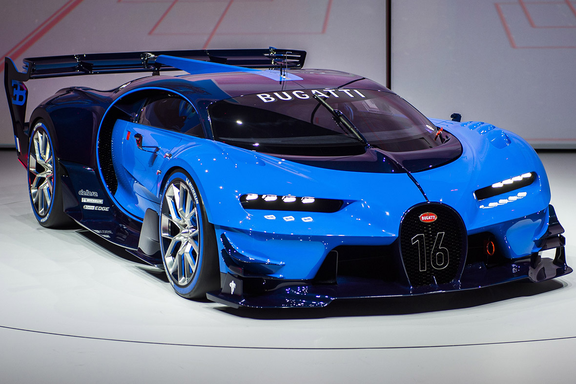 Frankfurt Motor Show 2015: Electric Sports Cars, Luxury
