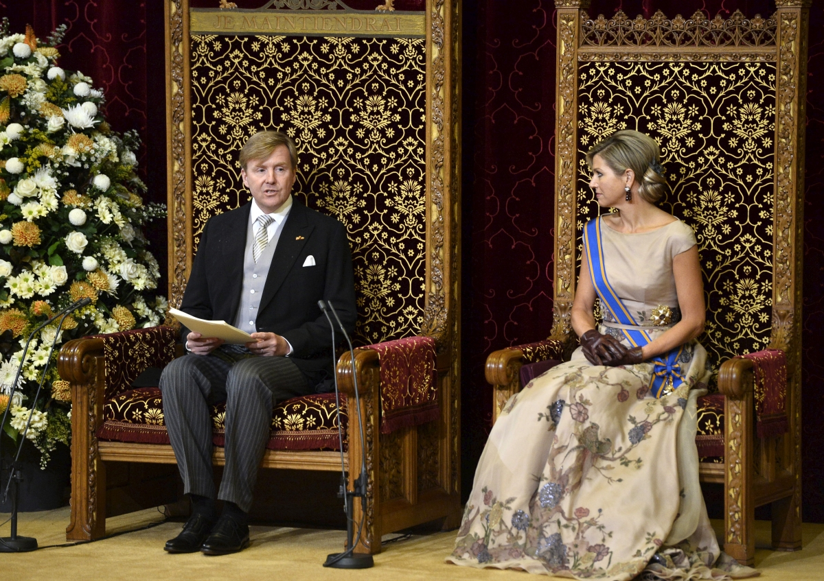 King Willem Alexander,