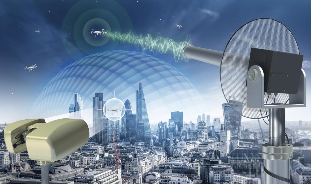 Falcon Shield Counter UAV System