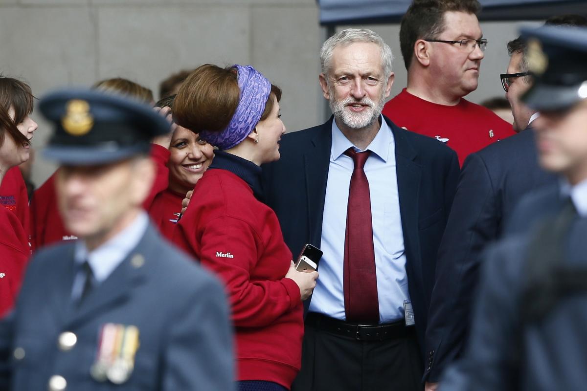 Jeremy Corbyn Battle Britain service
