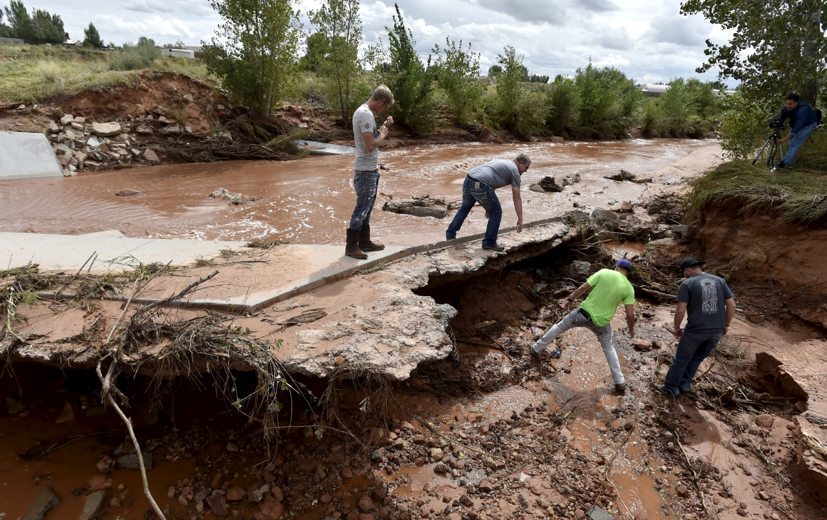 Utah flash floods