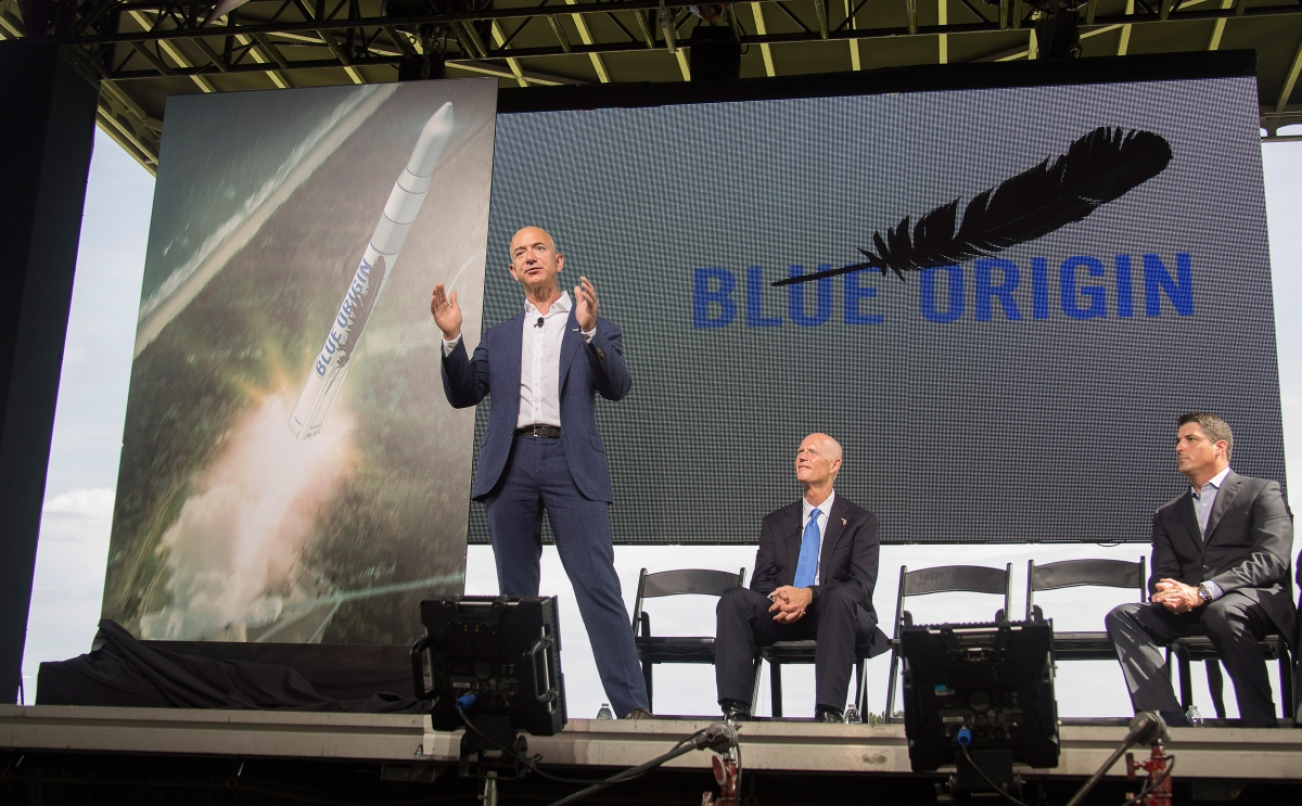 Blue Origin spacecraft