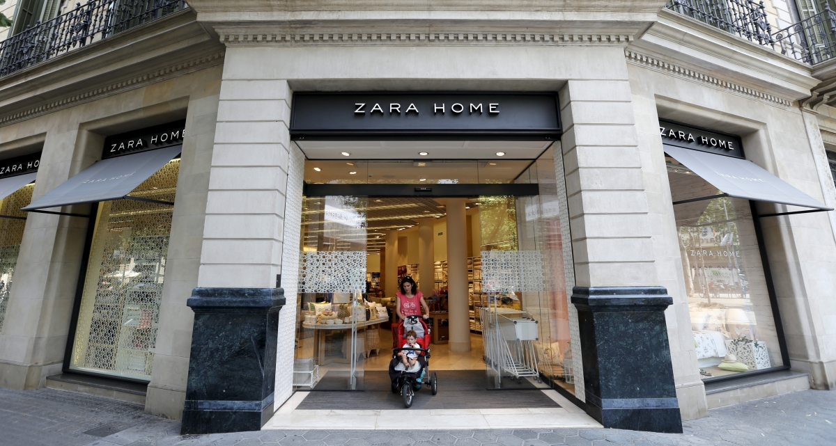 zara owner reports 26 jump in half yearly profits. Black Bedroom Furniture Sets. Home Design Ideas