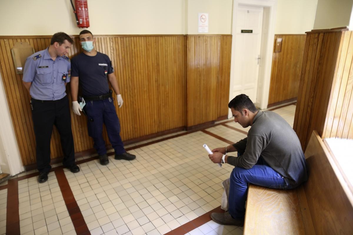 Hungary migrant sentenced