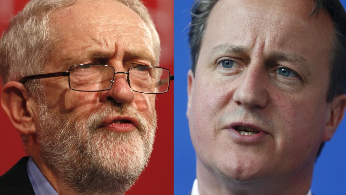 Corbyn vs Cameron